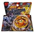 1 unids Beyblade Metal Fusion 4D Establece FLASH SAGITTARIO 230ED BB126 Lanzador + Juguetes Juego Niños Hijos de Regalo de Navidad Lct_030