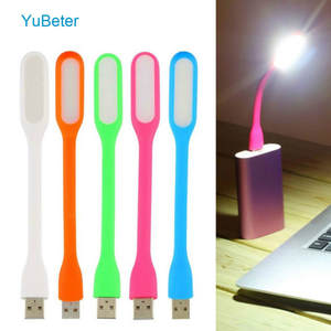 Yubeter Gadgets Table-Lamp Power-Bank Laptop Computer Notebook Led-Lights USB Flexible