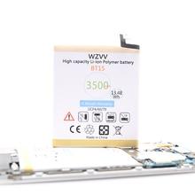 wzvv 3500mAh Li-Polymer Battery BT15 BT68 For Meizu M3 M3S / M3S mini Y685Q M688Q M688C M688M M688U Smart Phone Batteries meizu m3s mini 32gb silver