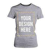 T-Shirt Photo Design Print Gray Tee for Women Harajuku Shirt Funny Femme Brand Clothing 2017 Kawaii Print T Shirt Women