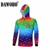 New Outdoor sport mens fishing clothes breathable quick dry Anti UV 40+ Anti-mosquit long sleeve hooded women fishing Shirts