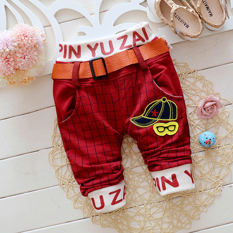 2016-autumn-new-100-cotton-good-quality-grid-stripe-with-belt-baby-boy-pants-1-piece-trousers-baby-pants-0-3-years-kids-pants-2