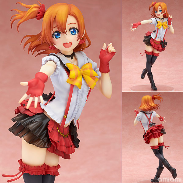Anime Love Live! School Idol Project Kousaka Honoka 1/8 Scale PVC Action Figure Collectible Model Toys 22cm KT391 stylish frameless pink pilot mirrored sunglasses for women
