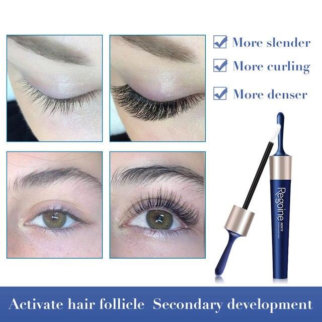 Eyelash Serum Growth Eyelash and Eyebrow Nourishing Essence Growth Eyelash Roots for Long and Thick and Lengthening Eye Lashes 3