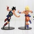 Caja Original de Dragon Ball Super Saiyan Goku Figura de Acción Juguetes Dragonball Dragon Ball Z Figuras Niños Juguetes Para Niños Del Bebé