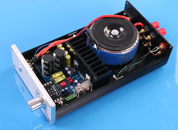 New Finished LM1875T Stereo Amplifier with OMRON Protect HIFI AMP