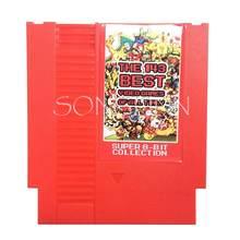 A 143 Em 1 Melhor Vídeo Jogos de Todos Os Tempos Contra Earthbound Megaman 123456/Tartarugas 1234 cartão para 72 pin 8 Bit Consola de jogos de Vídeo