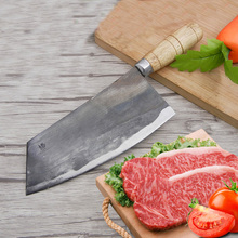Free Shipping Liang Da Knives Handmade Professional Chef Knife Kitchen Slice Meat Vegetable Multifunctional Forged