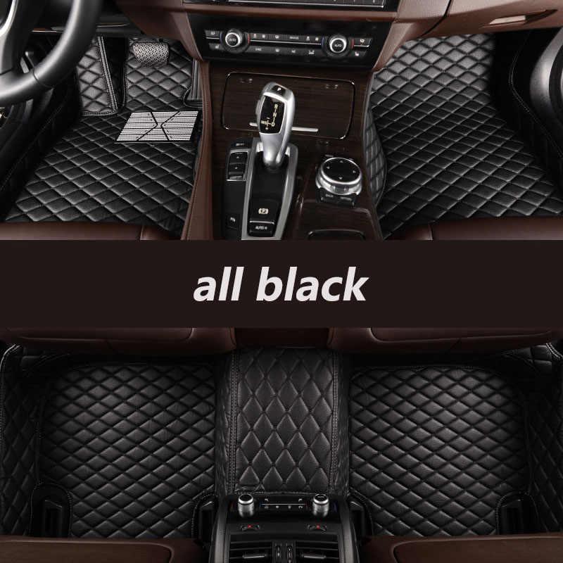 Пользовательские автомобильные коврики для Volkswagen VW Passat Golf touran Tiguan Sharan jetta вариант вверх Multivan Scirocco magotan Phaeton polo