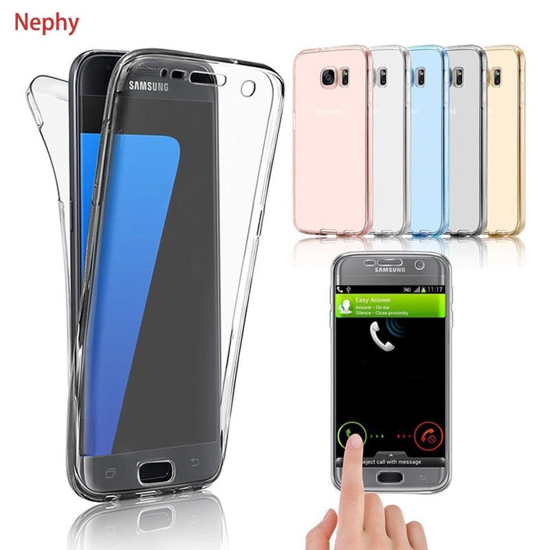 Nephy Case For Samsung Galaxy J5 J7 2017 Cover Soft TPU 360 Degree Full Body Protective Housing For SM J530 J730 Fundas Coque nokia 8 new 2018