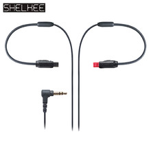 цены SHELKEE Free shipping High quality Upgrade audio cable cord Line For Audio Technica ATH IM50/IM70/IM04/IM03/IM01/IM02 earphones