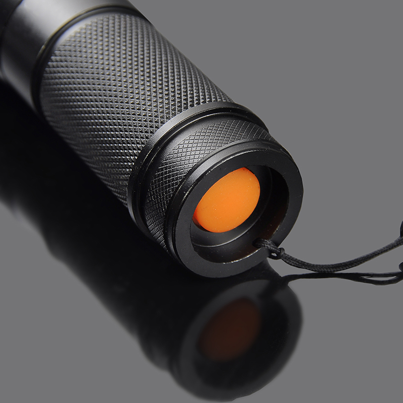 4000 Lumens LED Flashlight XM-L T6 Tactical Flashlight Zoomable 5 Mode LED Torch Flashlights linternas for 26650/18650/AAA ZK50