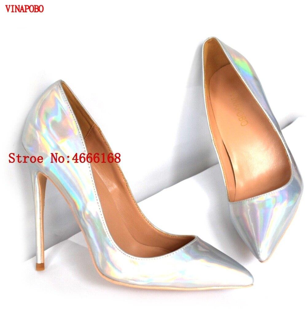 Argent 43 Mode 12cm 8cm Vianapobo Femmes Talons Chaussures Pompes 10cm Luxe Grande Heel Pour De Noce Haute Heel Sexy Heel Stilettos Taille axZnFxzw