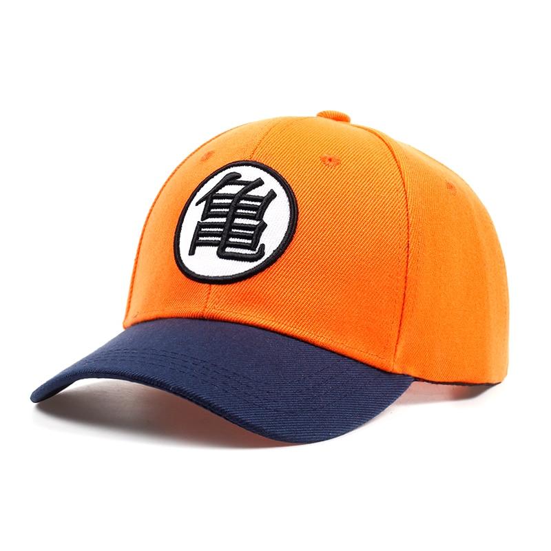 2018 New High Quality Anime Dragon Ball Z /Dragonball Goku Snapback Hat For Men Women Adjustable Hip Hip Baseball Cap