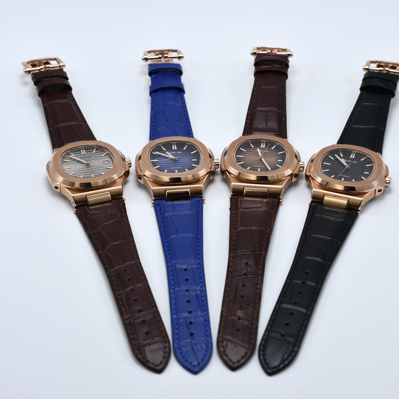 PETER LEE Sport Classic Men Watch Top Brand Leather Straps Mechanical Watch Fashion Male Clocks Business Unisex Watches Gift