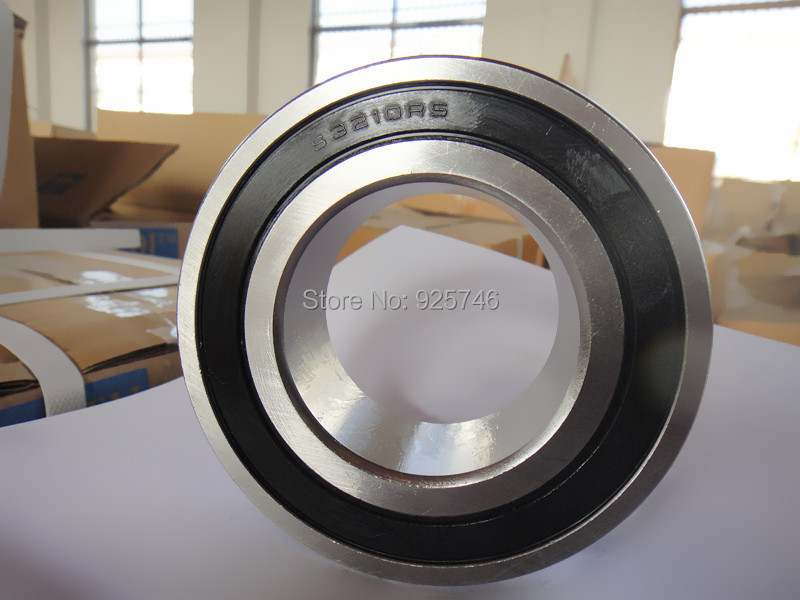 s5210 2RS  Stainless Steel  Double Row Angular Contact Ball Bearings s3210 2RS size:50X90X30.2mm 1 pieces double row angular contact ball bearings lr5307nppu old code 306807c 306707c size 35x90x34 9