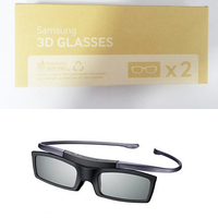 Free Shipping 2pcs Lot SSG 5100GB SAMSUNG 3D TVs Active Shutter Glasses Battery SSG 5100GB