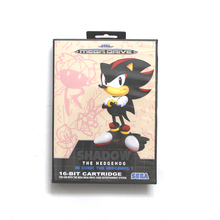 Shadow In Sonic The Hedgehog 1 16 bit MD card with Retail box for Sega MegaDrive Video Game console system