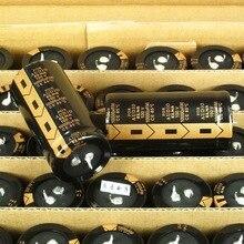1 قطعة/2 قطعة/4 قطعة/6 قطعة/10 قطعة رائجة البيع ELNA للصوت 100V10000UF الصوت للصوت مكثفات كهربائية الذهب الأسود