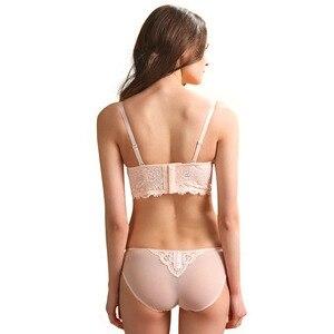 Image 2 - เซ็กซี่มูสลูกไม้เบาะชุดชั้นในชุดผู้หญิงขนาดบวกชุดชั้นในเต้านมรวบรวมชุดชั้นในปรับกินS Outienดันขึ้นชุดชุดชั้นในAbcdถ้วย