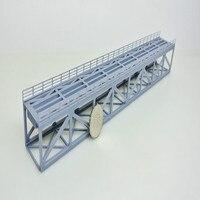 1/160 1/150 N ratio scale train railway bridge model lower truss structure 3D printing for n ho train layout