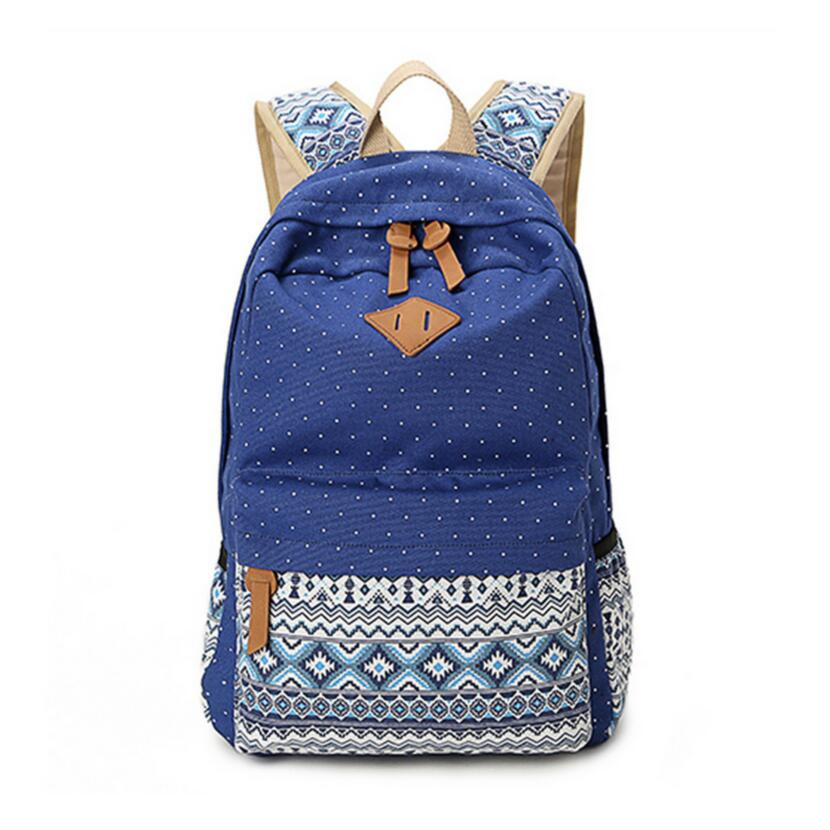 ombro azul caixa de lápis Function 3 : School Bags For Teenagers