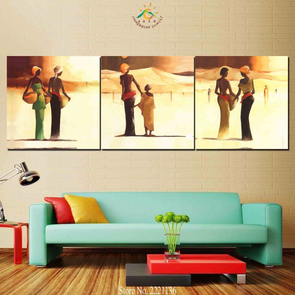 Funky Calima Bird Wall Decor Set Of 3 Composition - Wall Art ...