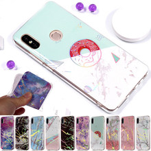 For Nokia 6 2018 Simple Marble TPU Cases Scrub Case for Nokia 1 7 Plus Protective shell For iphone 8 Case 6S SE 5 5S 4 4S B02(China)