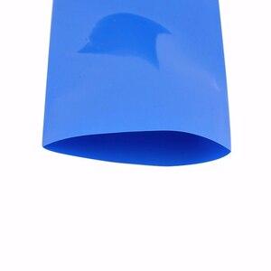 Darmowa wysyłka długi o szerokości 2 m, 250mm niebieski rura PVC modelu termicznego akcesoria bateria litowa do pakowania w folię termokurczliwą rękawy kablowe