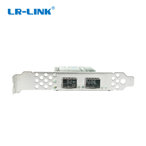 Image 4 - LR LINK 1002PF 2SFP+ 10Gb fiber optic ethernet network adapter PCI Express network card lan card Nic Domestic Chip