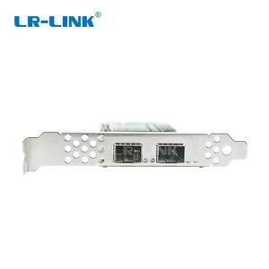 Image 4 - LR LINK 1002PF 2SFP+ 10Gb fiber optic ethernet network adapter PCI Express network card lan card Nic Domestic Chip