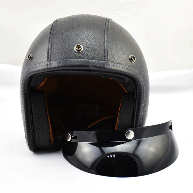Motorcycle Helmets For Sale >> Us 44 7 5 Off Hot Sale Direct Selling Open Face Capacetes Motorcycle Helmet Support Retro Bike Sports Cafe Racer Motos Helmets Capacete In Helmets