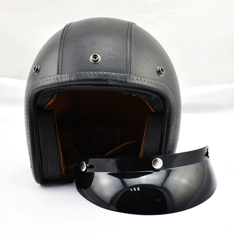 Hot Sale Direct Selling Open Face Capacetes Motorcycle Helmet Support Retro Bike Sports Cafe Racer Motos Helmets Capacete