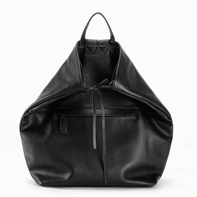 Mochila Feminina Genuine Leather Backpack Youth School Bags for girls backpack Bag Fashion Black Travel Back Pack Women Rucksack