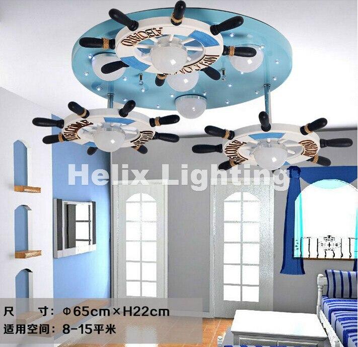 Детская Подвесная лампа d50см, в современном резиновом дизайне