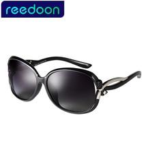 Reedoon New Women Sunglass Fashion Sun Glasses Polarized Gafas Polaroid Sunglasses Women Brand Designer Driving Oculos 2229-1