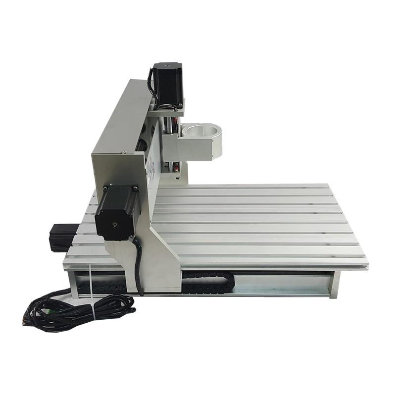 6040 DIY CNC Engraving Machine Frame 4060 cnc router Spindle fixture 80mm 6040 mini diy cnc frame part for wood router engraving machine with limit switch