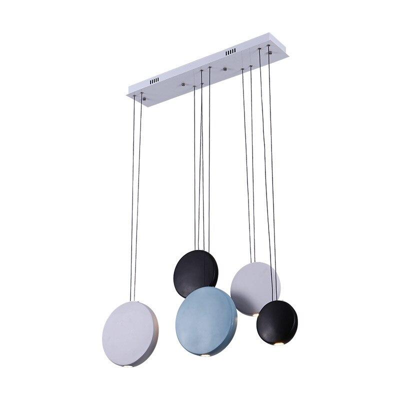 Buy led dining lighting fixtures modern art restaurant pendant lamp nordic - Esszimmerleuchten modern ...