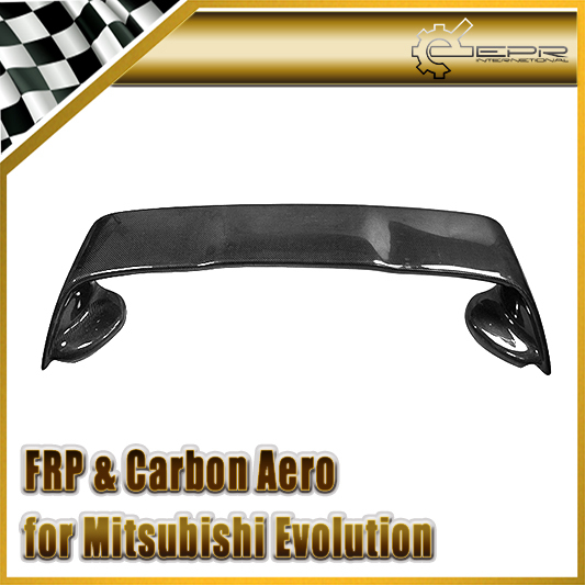 EPR International Auto Parts EPR Car Styling For Mitsubishi Evolution EVO 10 X Carbon Fiber OEM Rear Spoiler Wing