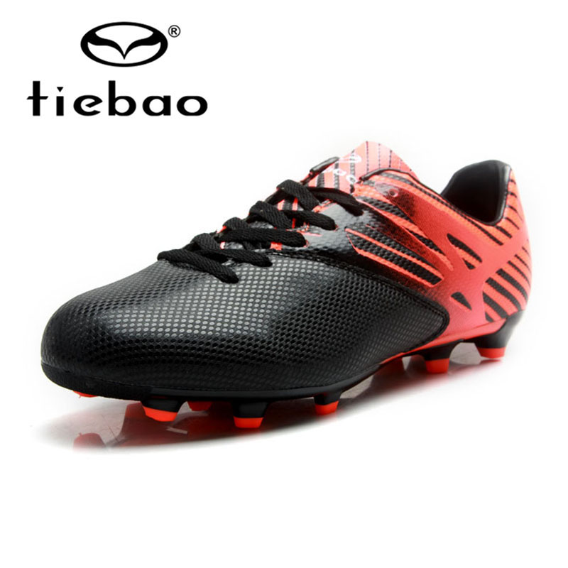 TIEBAO Adult Teenager Soccer Shoes Football Shoes Outdoor Sports FG & HG Soles Football Boots Athletic Training Cleats Sneakers outdoor boys soccer shoe little kid big kid synthetic leather upper rubber soles casual light weight men shoes cleats football