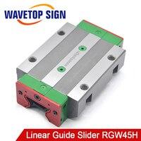 HIWIN Silent слайдер линейная направляющая RGW45H линейная направляющая применение для линейной направляющей ЧПУ Diy запчасти