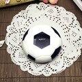 Envío de la venta Caliente de fútbol de Dibujos Animados de Doble Caja de Lente de Contacto lentes de contacto compañero de caja de Los Vidrios de espejo de Regalo Idea A8062