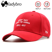 Ladybro lo siento no lo siento mujeres gorra de béisbol sombrero de los  hombres sombrero del 260c8ec295b