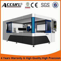 Cnc Fiber Laser Metal Sheet Cutting Machine For Thin And Thick Plate