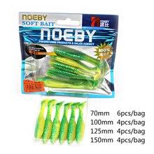 Soft Bait 12.5cm 15cm  10Colors Noeby lifelike special  Fishing Lure plastic Baits Wobblers  Pesca