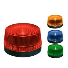 Strobe sinyal uyarı lambası TB35 N 3071 12 V 24 V 220 V Gösterge ışığı LED Lamba küçük yanıp sönen ışık Güvenlik Alarm IP44