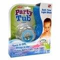Novo brinquedo Do Bebê brinquedos para o Banho Brinquedo lâmpada Party in the Tub Luz LED À Prova D' Água Crianças crianças Água Frete Grátis