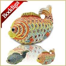 Luxus Kristall Abendtasche Mode Fisch Form Frauen Party Geldbörse kleid Spiel Tasche Gold Blau Lange Kette Clutch Bag Freies verschiffen