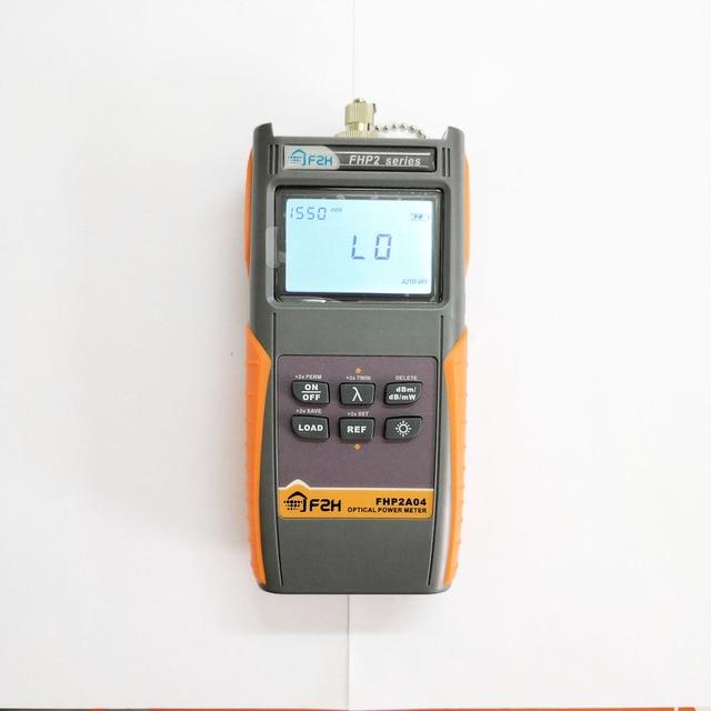 Grandway FHP2A04 Fibra Óptica Medidor De Energia Recarregável com Função De Armazenamento De Dados