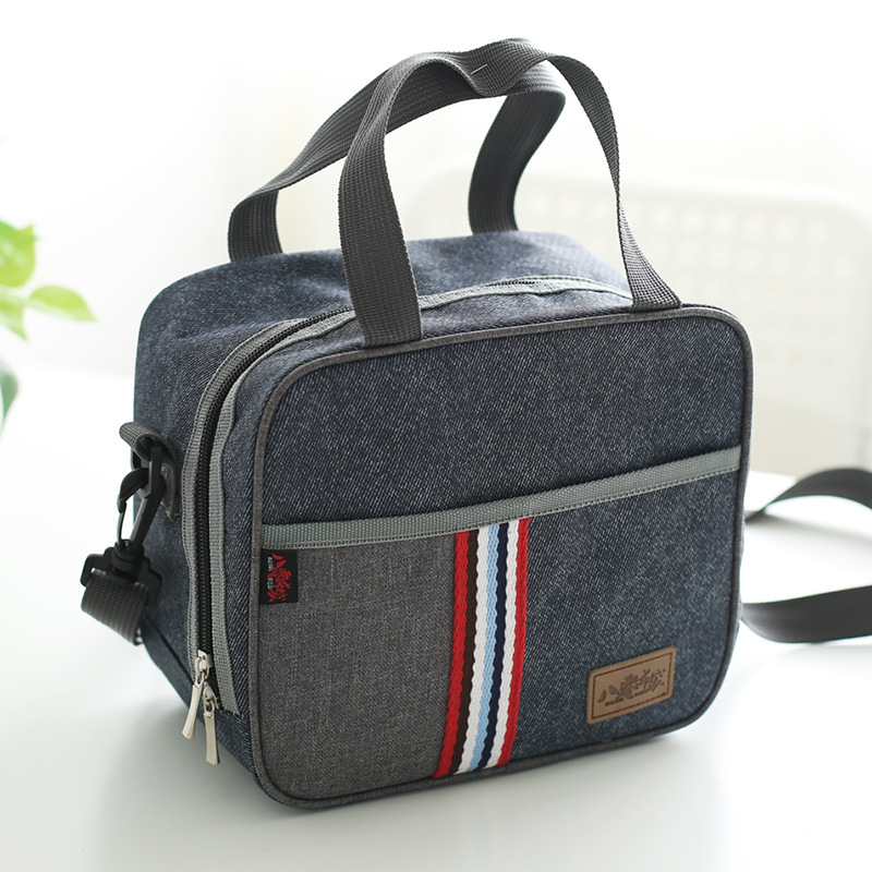New Fashion Portable Insulated Lunch Bag Thermal Bag Women Kids And Men Casual Thermo Food Cooler Drink Picnic Bag Lunch Box